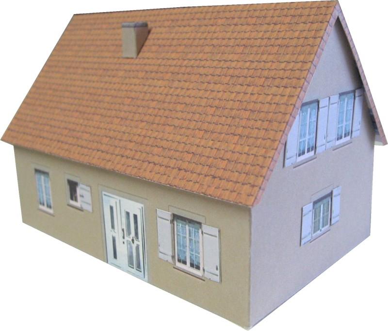 Maison En Carton Gratuite