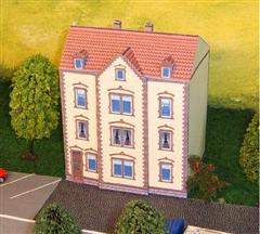 maquette maison carton